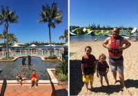 Family memories at Twin Waters Sunshine Coast